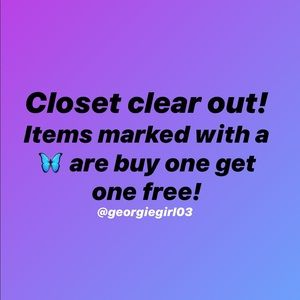 Tops - BOGO FREE! NEW ITEMS ADDED 🦋🦋🦋🦋🦋